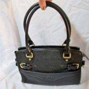 Vintage DOONEY & BOURKE Pebbled Leather Satchel